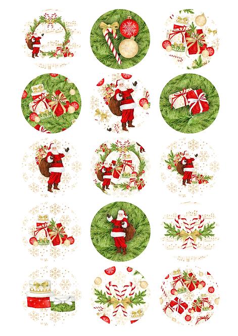 CÍRCULOS DE 5 CM | Hey Santa!