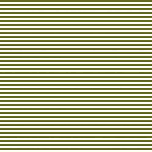 RISCAS HORIZONTAIS | Verde Musgo | A partir de