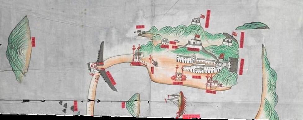 BARRA cartografia de Macau transparente.