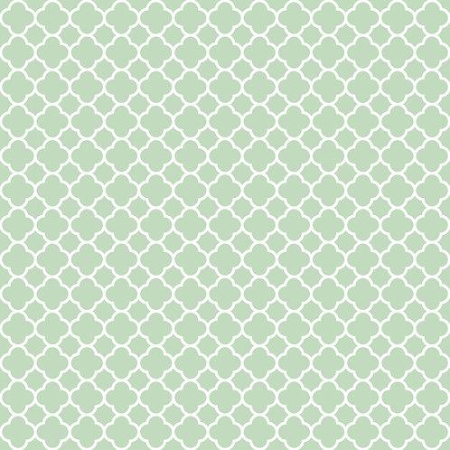 QUATREFOIL | Verde Celadon | A partir de