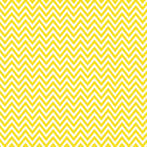 CHEVRON MÉDIO | Amarelo Ouro | A partir de
