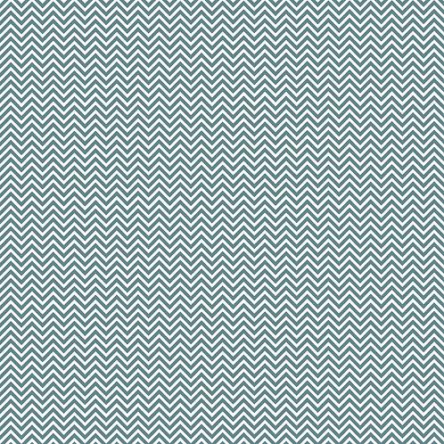 CHEVRON PEQUENO | Azul Seco | A partir de