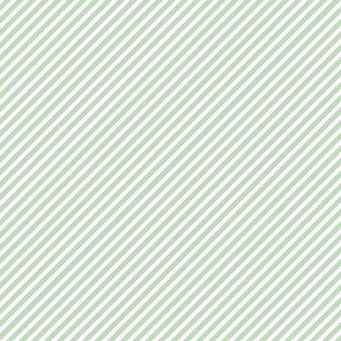 RISCAS DIAGONAIS | Verde Celadon | A partir de