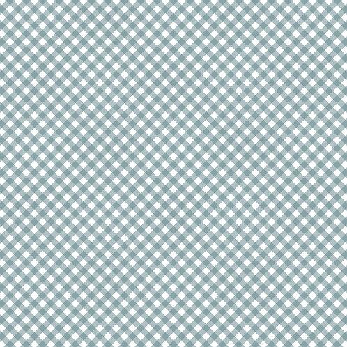 GINGHAM | Azul Seco | A partir de