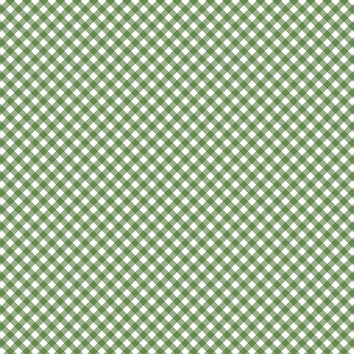 GINGHAM | Verde Bandeira | A partir de