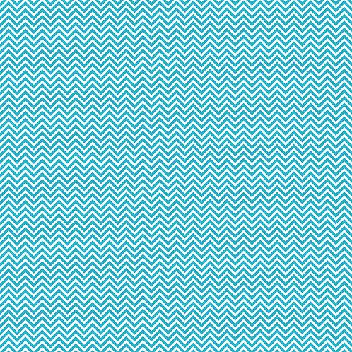 CHEVRON PEQUENO | Azul Tiffany | A partir de
