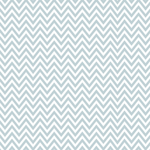 CHEVRON MÉDIO | Azul Seco 2ª Cor | A partir de