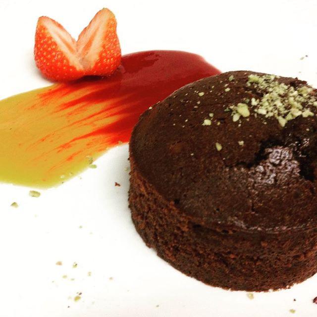 Fondant au chocolat #chefpatissier #dess