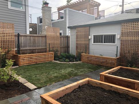 Urban Backyard Renovation, Chicago IL