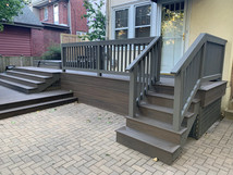 Composite Deck in Evanston