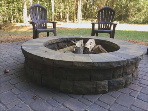 Stone Firepit, Wilmette IL