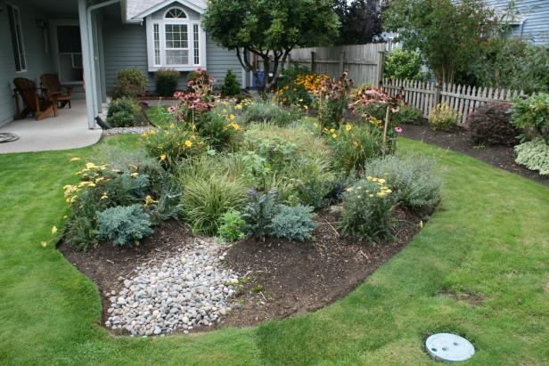 Front Yard Rain Garden