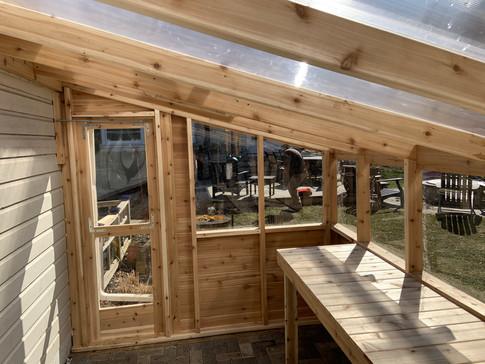 Cedar 4 Season Greenhouse, Wilmette IL