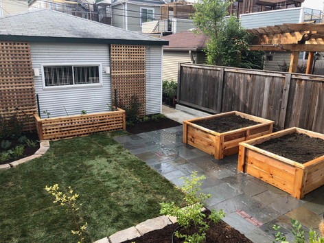 Urban Backyard Transformation in Chicago, IL