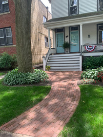 Paver Walkway, Evanston IL