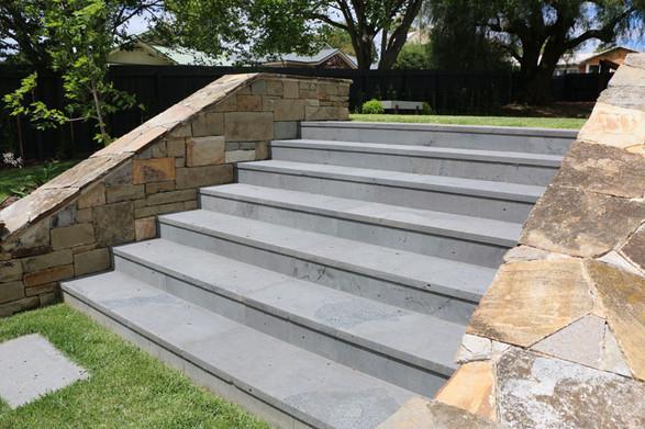 Bluestone steps, Chicago IL