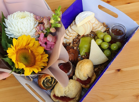 Mother's day picnic basket
