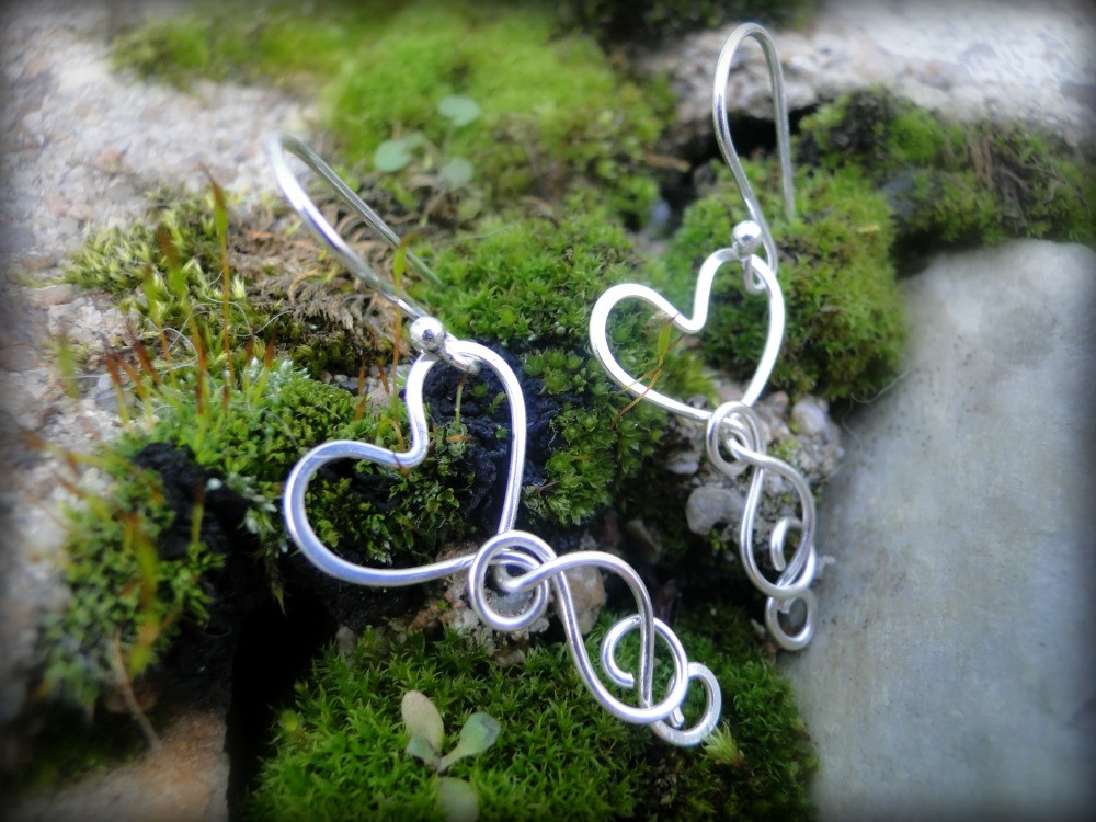 Boucles d'Oreilles ~Liens de Coeur~