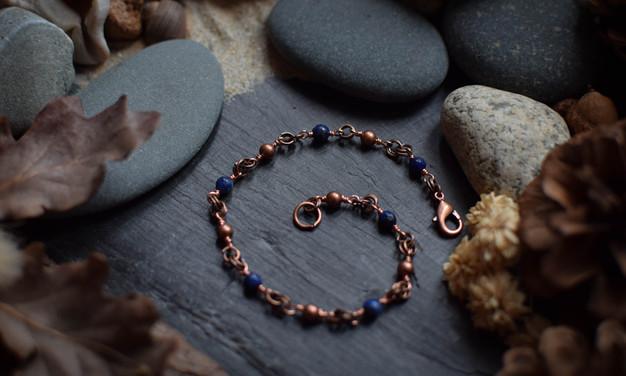 Bracelet ~Lien de Vif~ - Oeil de Nuit & Fitz-