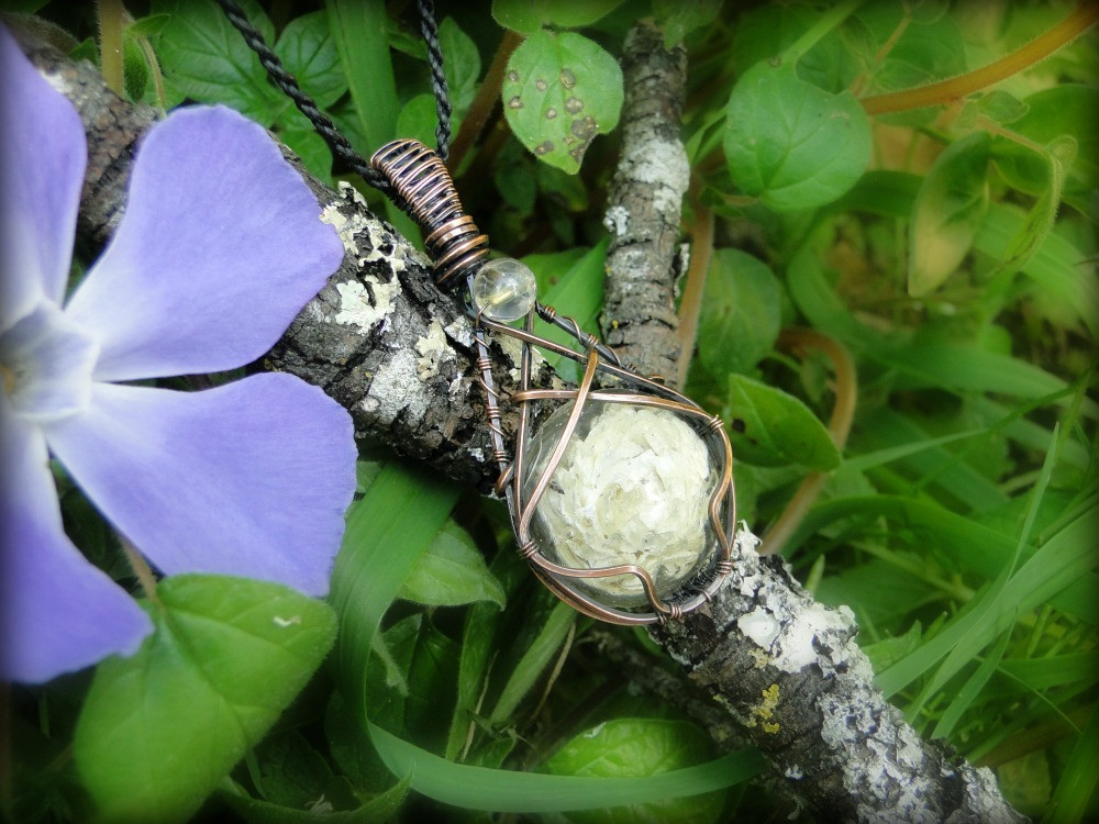 Pendentif ~Fragment de Fleur~