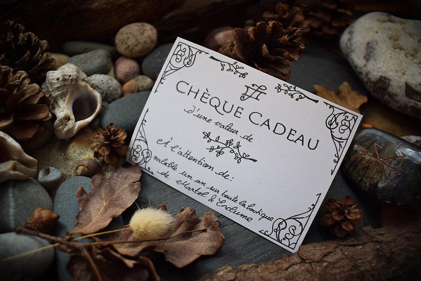 ~ Chèque Cadeau Martel & Enclume ~ valable sur toute la boutique