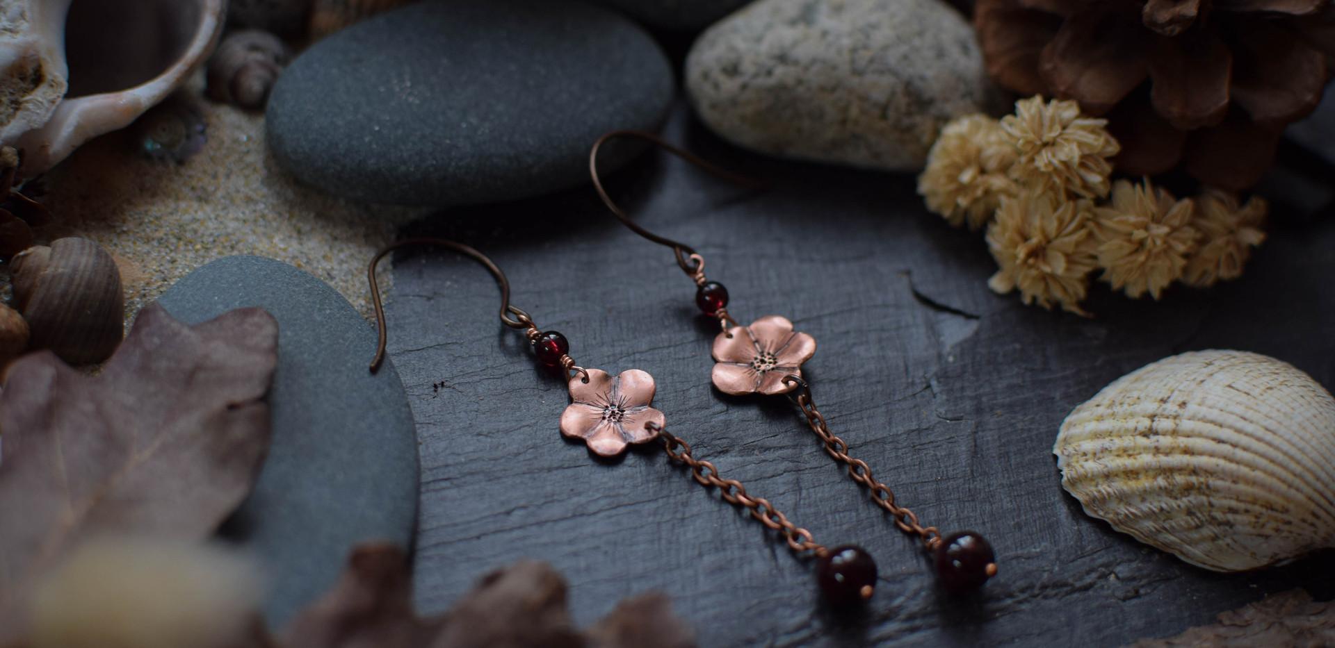 Boucles d'Oreilles ~In Bloom~
