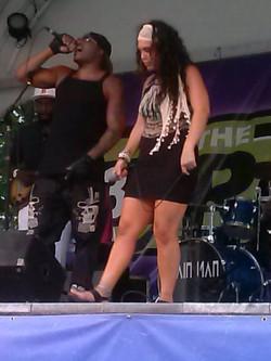 Lovjoy with Megyn Hermez