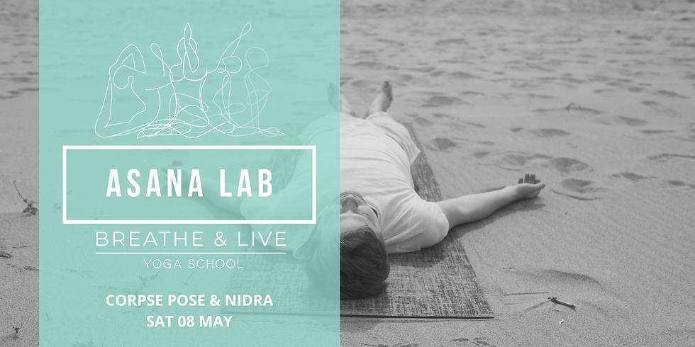 ASANA LAB | Corpse pose with Yoga Nidra