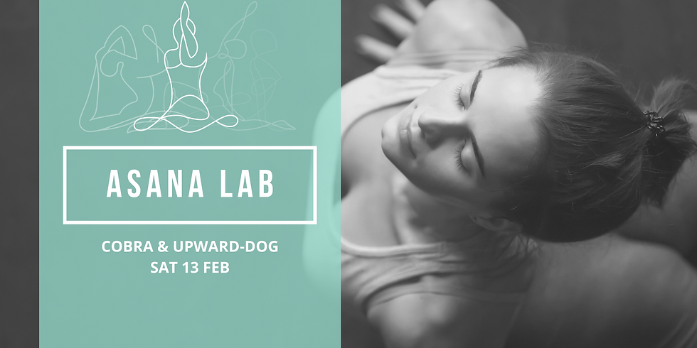 ASANA LAB | Cobra and Upward facing dog