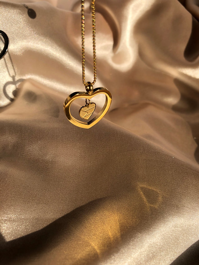 _Home is where the heart is_ necklace