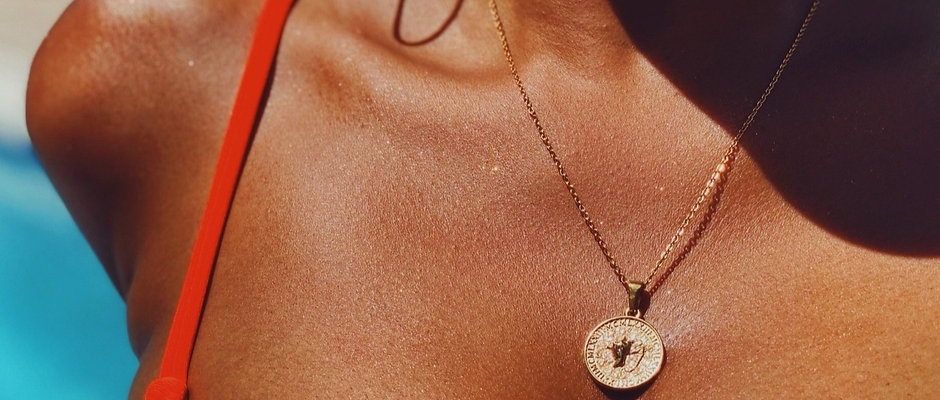 Conch Coin Necklace