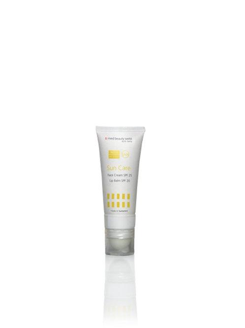 Sun Care Face Cream SPF 25 / Lip Balm SPF 20
