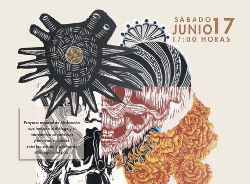 """Gráfica expandida, construcciones cerámicas"" Centro-Occidente México 2017."