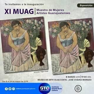 XI Muestra de Mujeres Artistas Guanajuatenses 2019, Museo de Arte Olga Costa y José Chávez Morado