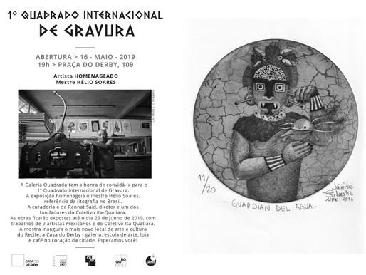 Residencia Litográfica en Recife, Brasil 2019