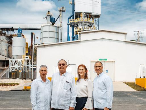 Empresa minera dominicana DOCALSA inaugura nuevos equipos de tecnología de punta
