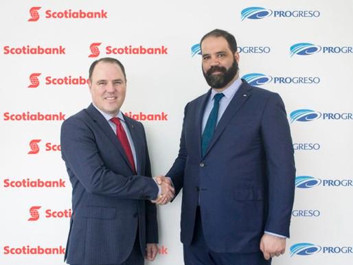 A partir de mayo el Scotiabank y el Progreso serán una sola entidad