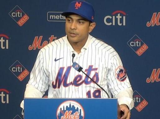 """Luis Rojas: """"Era mi sueño convertirme en manager de los Mets de Nueva York"""""""