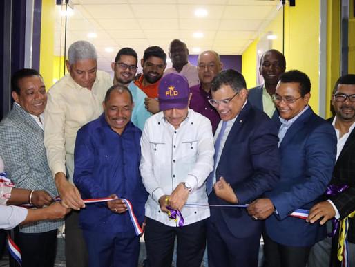 PLD continúa desarrollando actividades en San Cristóbal