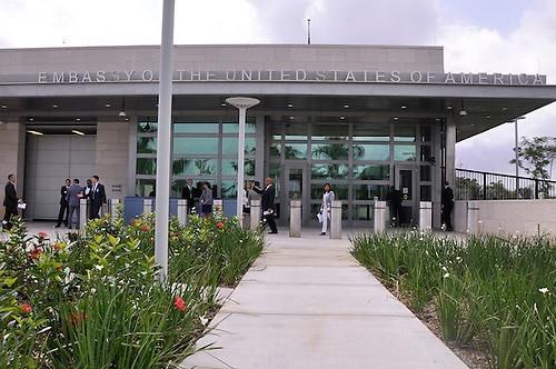 Embajada de EEUU en RD limitará servicios de visa a partir del lunes