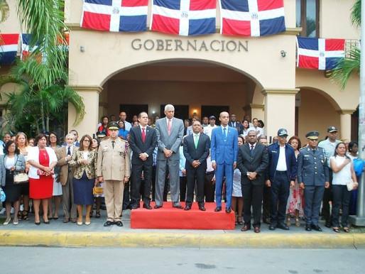 Celebran en San Cristóbal el 176 aniversario de la Independencia Nacional
