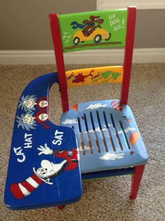 Dr. Suess School Chair