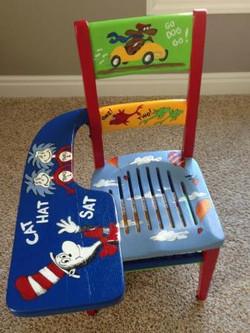 Dr. Suess School Chair
