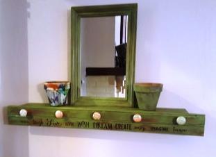 Green shelf 1