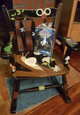 Book Chair Little Owl Night