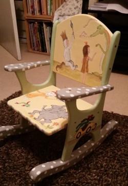 Book Chair rocker
