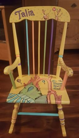 Oh the Places Book chair