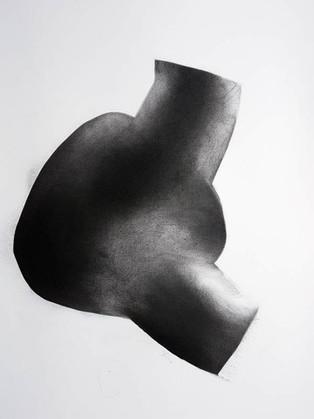 2018   fusain et pierre-noire sur papier   50 x 65