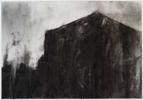 2018   fusain et pierre-noire sur papier   40 x 30