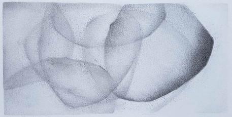 2017 | pierre noire et graphite sur papier | 11 x 20